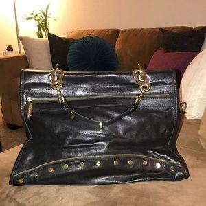 Olivia & Joy Black leather handbag